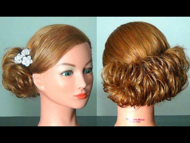Простые причёски на выпускной на короткие волосы